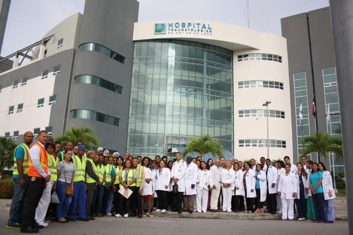 Hospital Ney Arias Lora  involucra estudiantes para reducir choques de tránsito