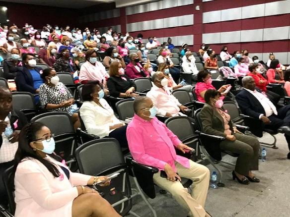 Junta Municipal San Luis y el ITSC ofrecen charla preventiva contra el Cáncer de Mama