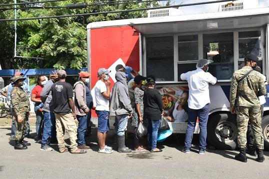 Comedores Económicos con Jornada de Distribución gratuita de alimentos en sectores populosos de SFM